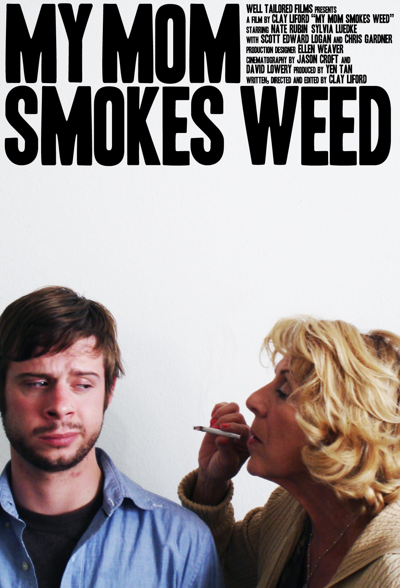 Poster for My Mom Smokes Weed