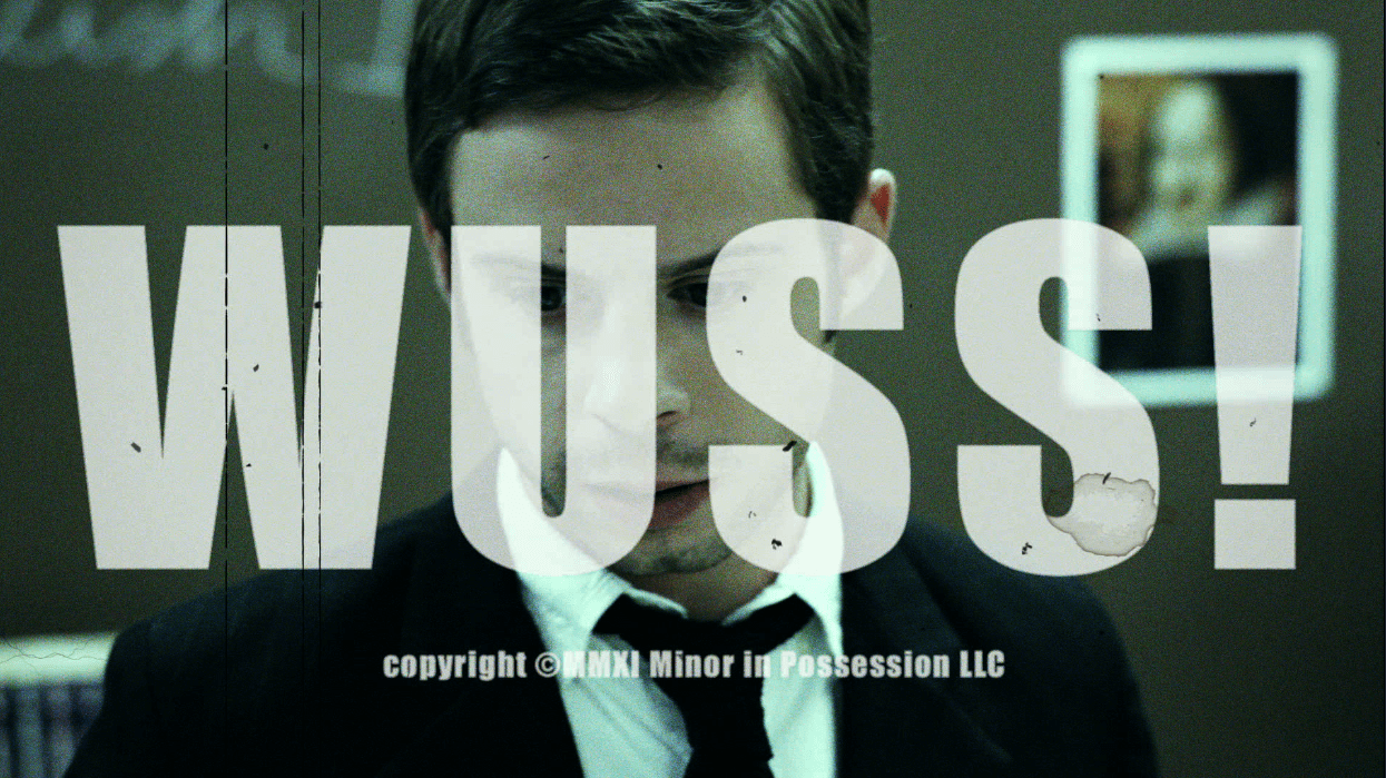 Title card for Wuss!