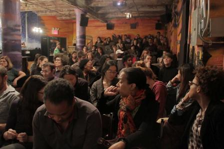 Audience at MY BROOKLYN Screening