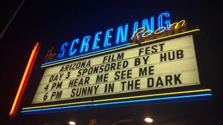 SITD_screen marquee at AZIFF